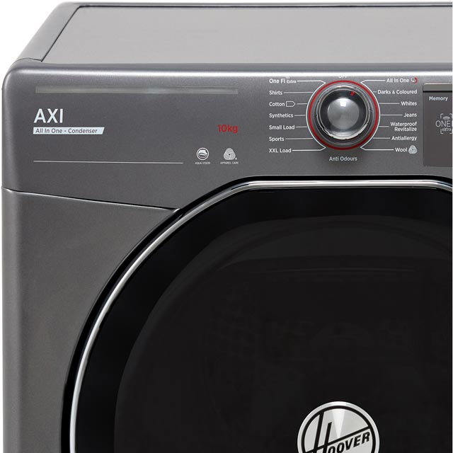 Hoover AXI ATDC10TKERX Condenser Tumble Dryer - Graphite - ATDC10TKERX_GH - 2
