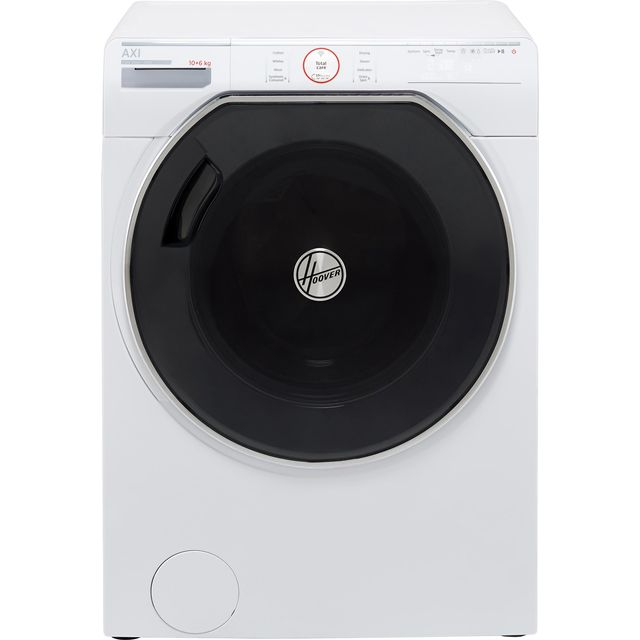 Hoover AXI AWDPD6106LH Wifi Connected 10Kg / 6Kg Washer Dryer with 1600 rpm - White - A Rated - AWDPD6106LH_WH - 1