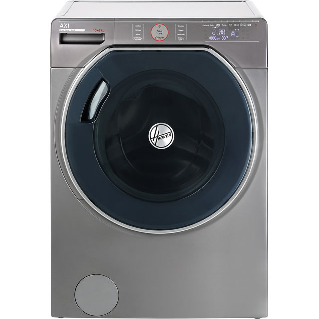 Hoover AXI AWDPD6106LHR Wifi Connected 10Kg / 6Kg Washer Dryer with 1600 rpm - Graphite - A Rated