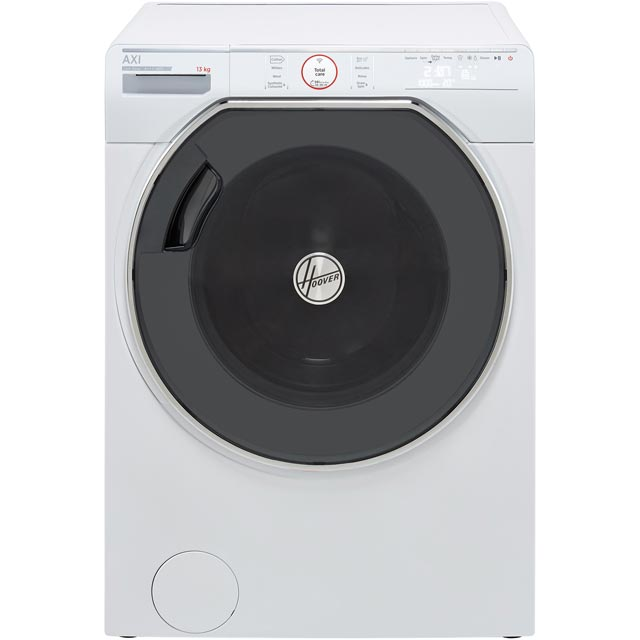Hoover AXI AWMPD413LH7 Wifi Connected 13Kg Washing Machine with 1400 rpm - White - A+++ Rated - AWMPD413LH7_WH - 1