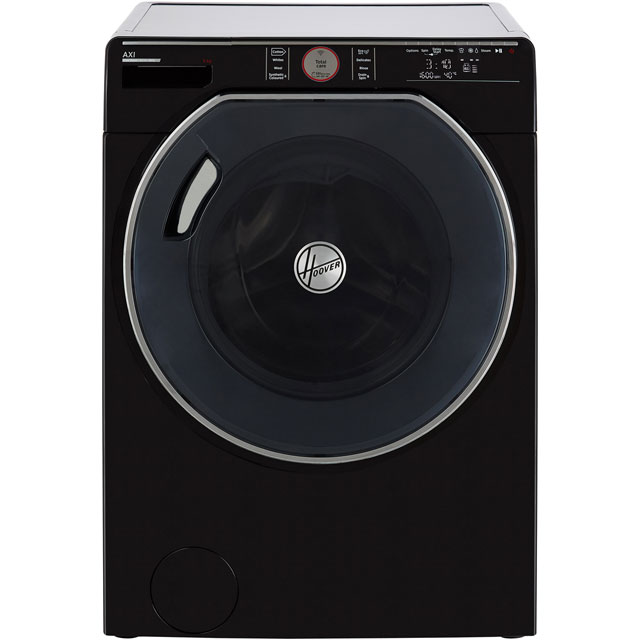 Hoover AXI AWMPD69LH7B 9Kg Washing Machine with 1600 rpm - Black - AWMPD69LH7B_BK - 1