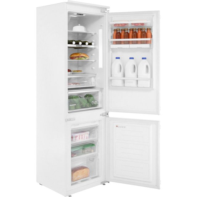 Hoover BHBF172NUK Integrated 70/30 Frost Free Fridge Freezer with Sliding Door Fixing Kit - White - A+ Rated