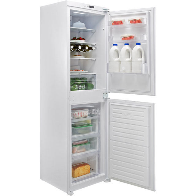 Hoover BHBF172UKT Built In 50/50 Frost Free Fridge Freezer - White - BHBF172UKT_WH - 1