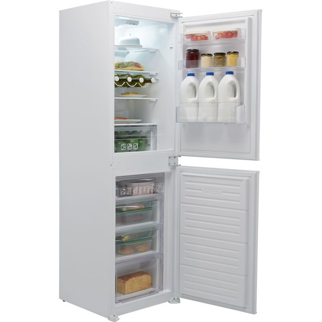 Hoover BHBS172UKT/N Integrated 50/50 Fridge Freezer with Sliding Door Fixing Kit - White - F Rated
