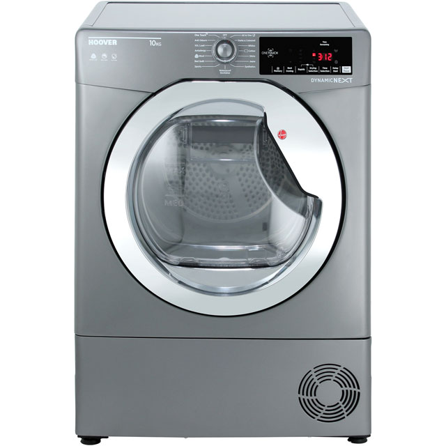 Hoover Dynamic Next Advance DXC10TCER 10Kg Condenser Tumble Dryer - Graphite - B Rated