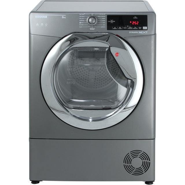 Hoover Dynamic Next Advance DXC8TCER 8Kg Condenser Tumble Dryer - Graphite - B Rated - DXC8TCER_GH - 1
