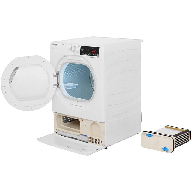 Hoover Dynamic Next DXC8TG Condenser Tumble Dryer - White - DXC8TG_WH - 2