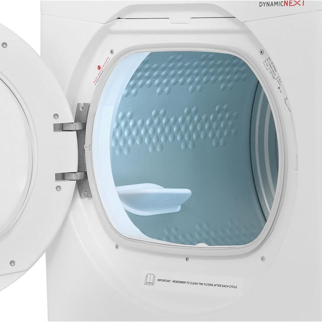 Hoover Dynamic Next DXC8TG Condenser Tumble Dryer - White - DXC8TG_WH - 5