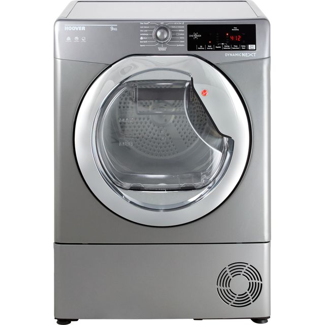 Hoover Dynamic Next Advance DXC9TCER Condenser Tumble Dryer - Graphite / Chrome - DXC9TCER_GH - 1