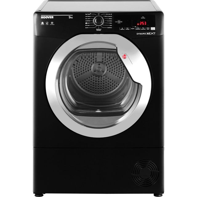 Hoover DXC9TCGB Freestanding B Rated Condenser Tumble Dryer - Black