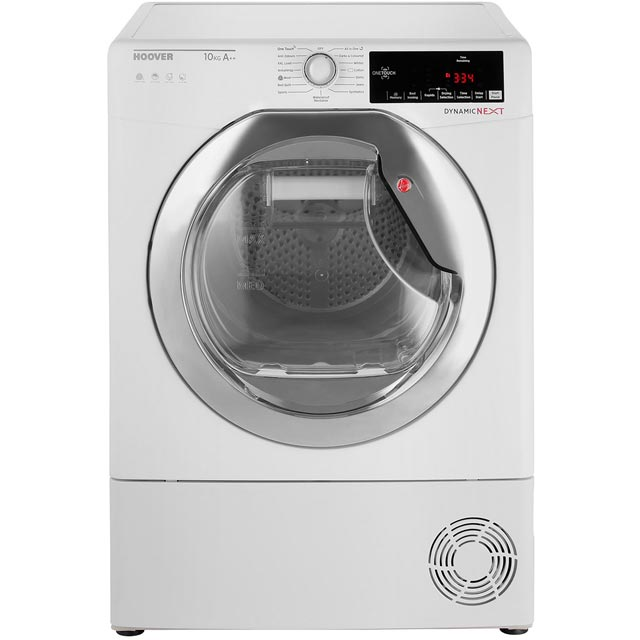 Hoover Dynamic Next Free Standing Condenser Tumble Dryer in White