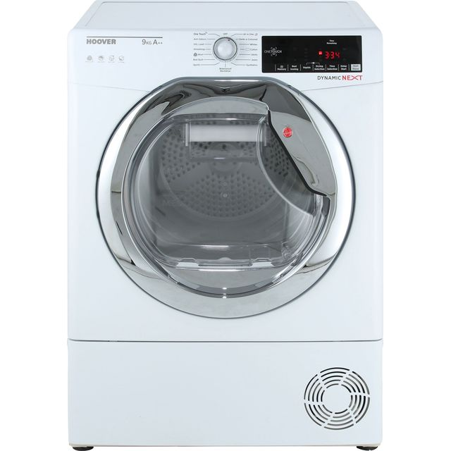 Hoover Dynamic Next Advance DXH9A2TCE 9Kg Heat Pump Tumble Dryer - White - A++ Rated