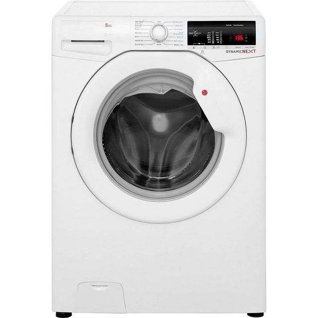 Hoover Dynamic Next DXOA148TLW3 8Kg Washing Machine with 1400 rpm - White - A+++ Rated - DXOA148TLW3_WH - 1
