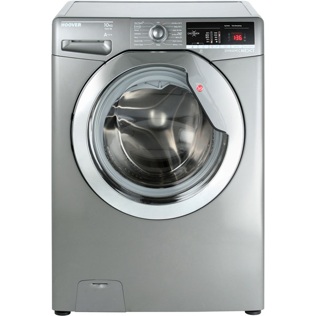 Hoover Dynamic Next DXOA410C3R 10Kg Washing Machine with 1400 rpm - Graphite - A+++ Rated - DXOA410C3R_GH - 1