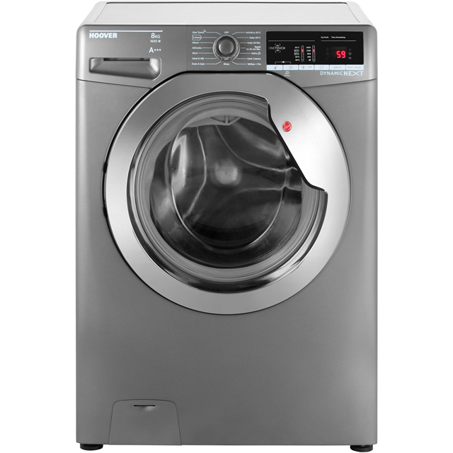 Hoover Dynamic Next Advance DXOA68C3R 8Kg Washing Machine with 1600 rpm - Graphite - A+++ Rated - DXOA68C3R_GH - 1