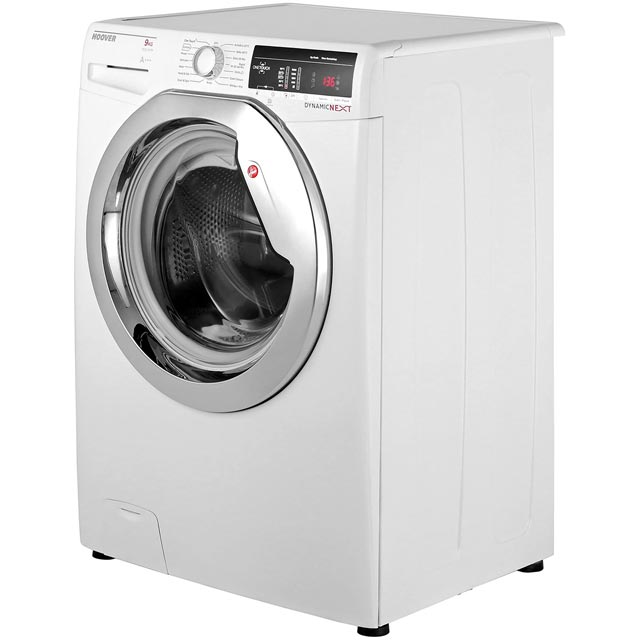 Hoover Dynamic Next DXOA69C3 9Kg Washing Machine - White / Chrome - DXOA69C3_WH - 2