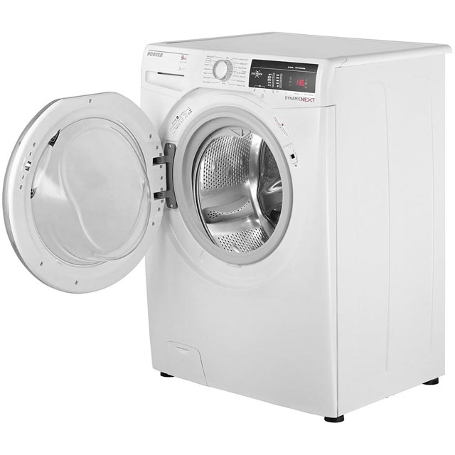 Hoover Dynamic Next DXOA69C3 9Kg Washing Machine - White / Chrome - DXOA69C3_WH - 3