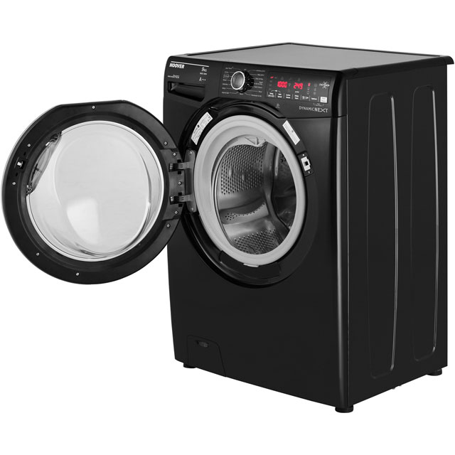 Hoover Dynamic Next DXOA69HC3B 9Kg Washing Machine - Black / Chrome - DXOA69HC3B_BK - 4