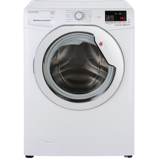 hoover one touch dxoc410c3 free standing washing machine. Black Bedroom Furniture Sets. Home Design Ideas