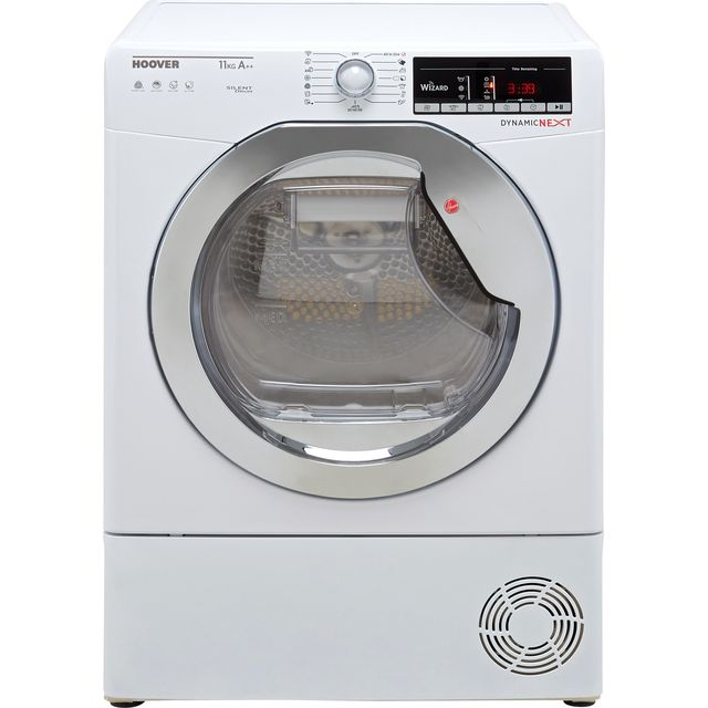 Hoover Dynamic Next DXOH11A2TCEXM Wifi Connected 11Kg Heat Pump Tumble Dryer - White - A++ Rated