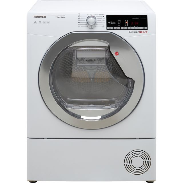 Hoover Dynamic Next DXOH9A2TCE Heat Pump Tumble Dryer - White - DXOH9A2TCE_WH - 1