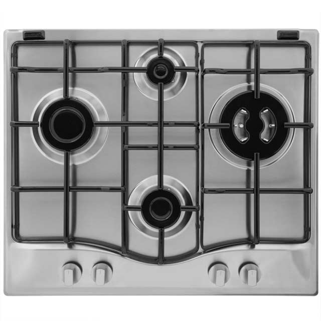 Hotpoint GC640TX 59cm Gas Hob - Stainless Steel