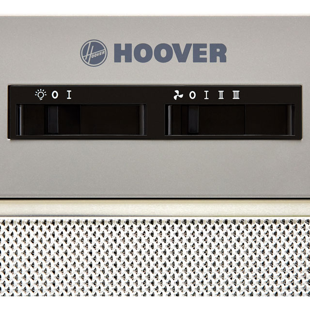 Hoover HBG152NS 52 cm Canopy Cooker Hood - Silver - HBG152NS_SI - 3