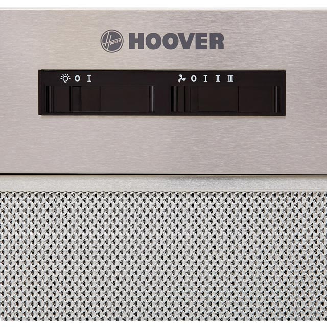 Hoover HBG175NX Built In Canopy Cooker Hood - Silver - HBG175NX_SI - 3