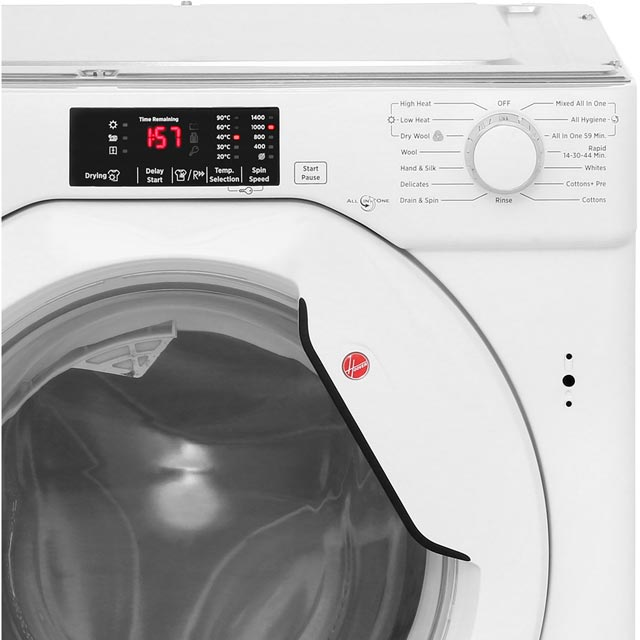 Hoover HBWD7514DA Built In Washer Dryer - White - HBWD7514DA_WH - 5
