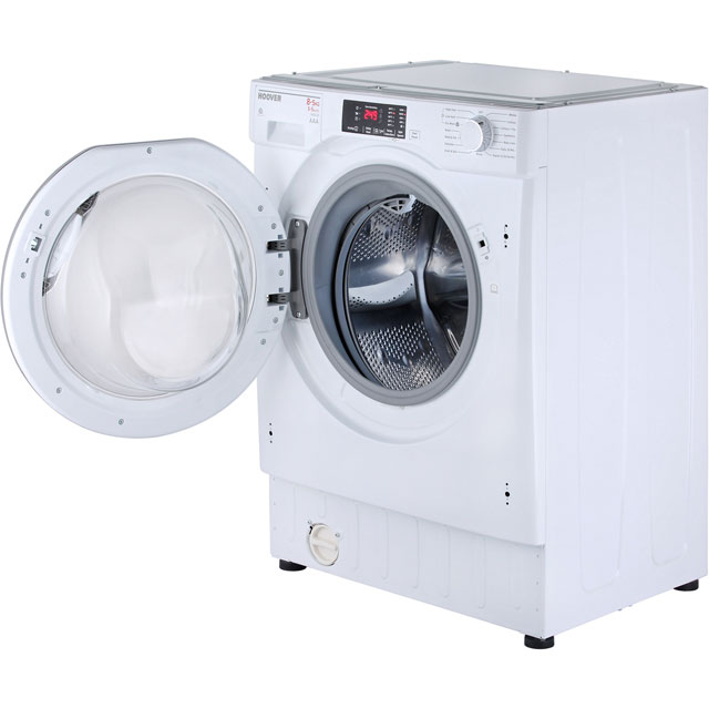 Hoover HBWD8514DC Built In 8Kg / 5Kg Washer Dryer - White - HBWD8514DC_WH - 5
