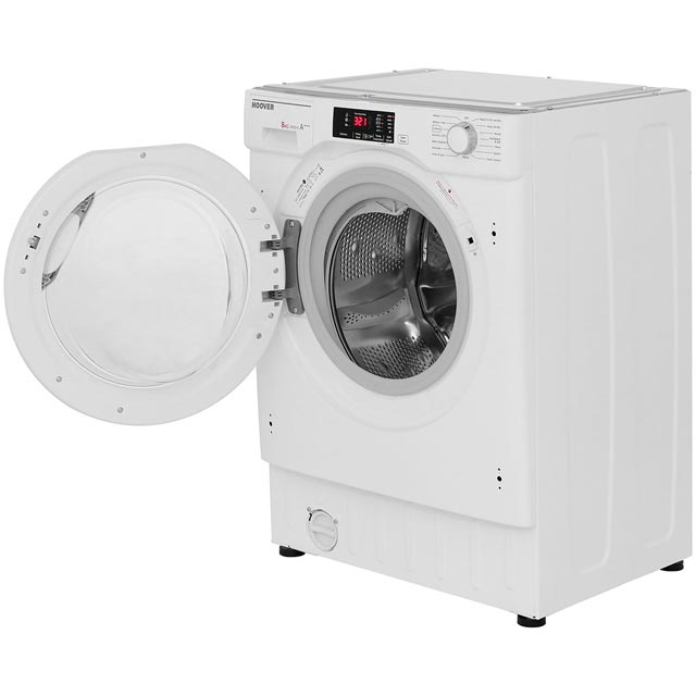 Hoover H-WASH 300 HBWM814D Built In 8Kg Washing Machine - White - HBWM814D_WH - 3