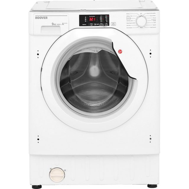 Hoover HBWM914D Integrated 9Kg Washing Machine with 1400 rpm - A+++ Rated - HBWM914D_WH - 1
