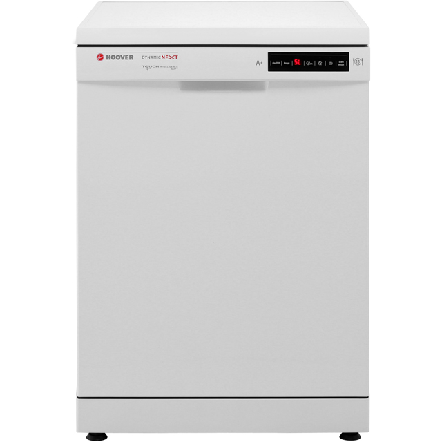 Hoover HDP1D39W Standard Dishwasher - White - A+ Rated - HDP1D39W_WH - 1