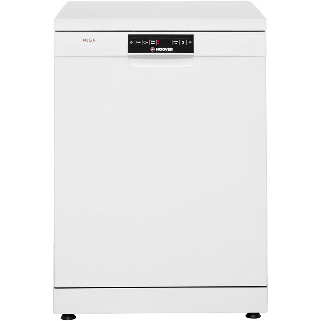 Hoover HDP1T064PW3W Standard Dishwasher - White - A+ Rated - HDP1T064PW3W_WH - 1
