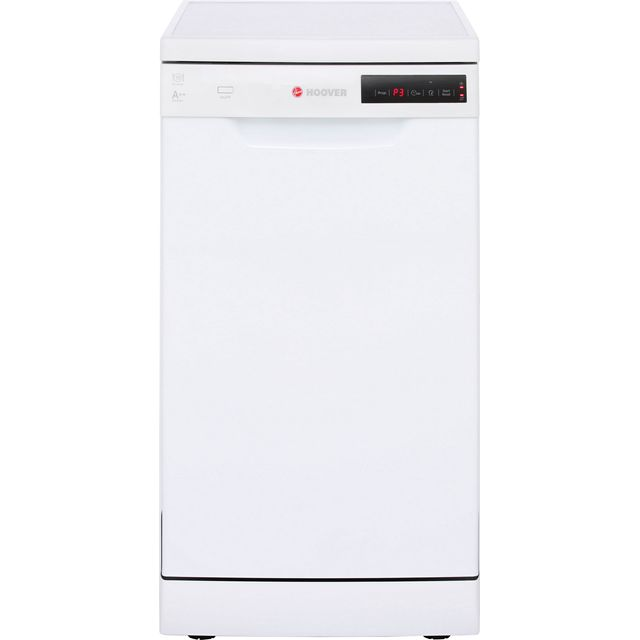 Hoover HDP2D1049W Slimline Dishwasher - White - A++ Rated - HDP2D1049W_WH - 1