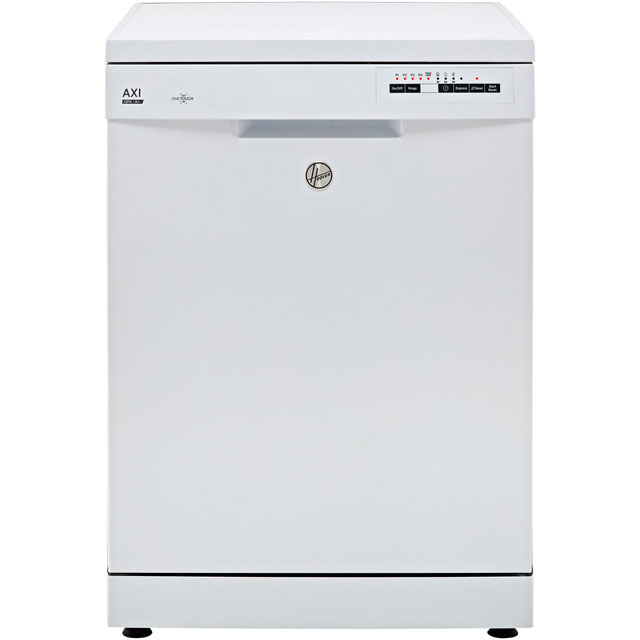 Hoover AXI HDPN1L390OW Standard Dishwasher - White - A+ Rated - HDPN1L390OW_WH - 1