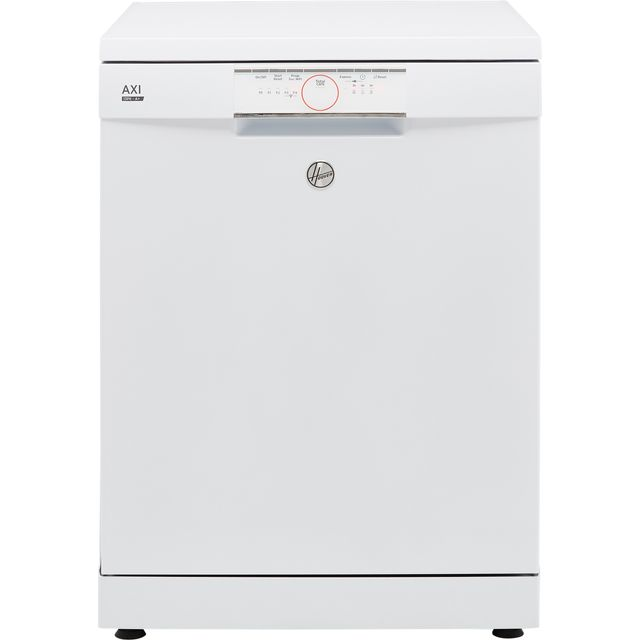 Image of Hoover AXI HDPN1L390PW Standard Dishwasher - White - A+ Rated