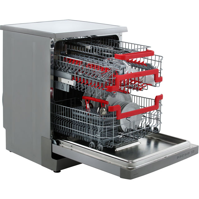 Hoover AXI HDPN1L642OX Standard Dishwasher - Stainless Steel - HDPN1L642OX_SS - 3