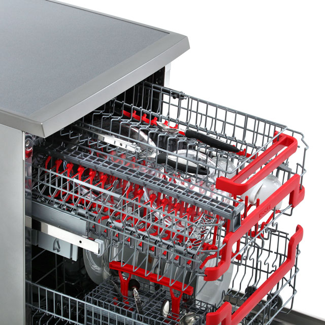 Hoover AXI HDPN1L642OX Standard Dishwasher - Stainless Steel - HDPN1L642OX_SS - 4