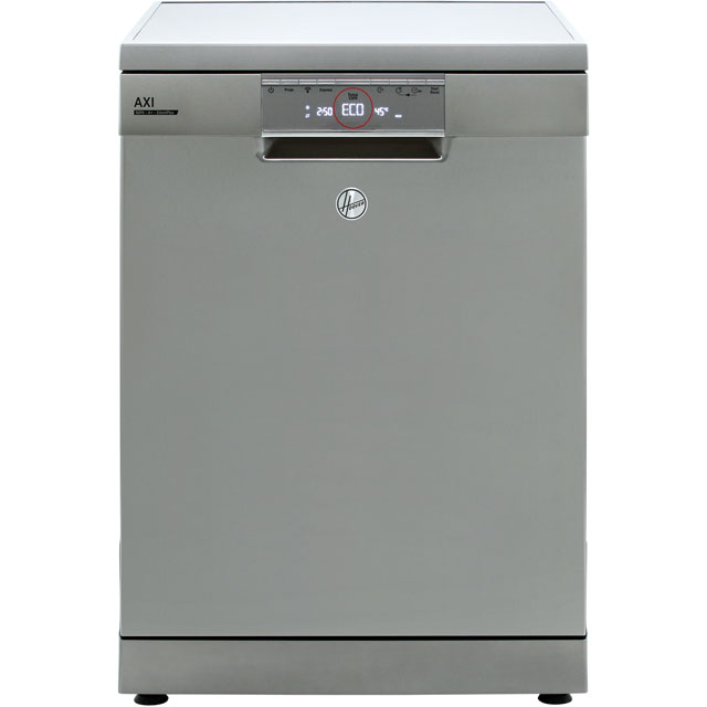 Hoover AXI HDPN1S643PX Wifi Connected Standard Dishwasher - Stainless Steel - A+ Rated - HDPN1S643PX_SS - 1