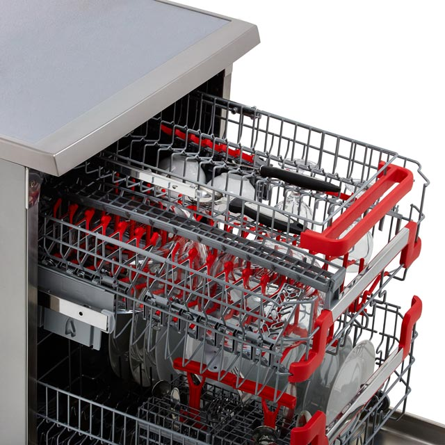 Hoover AXI HDPN4S603PX Standard Dishwasher - Stainless Steel - HDPN4S603PX_SS - 3
