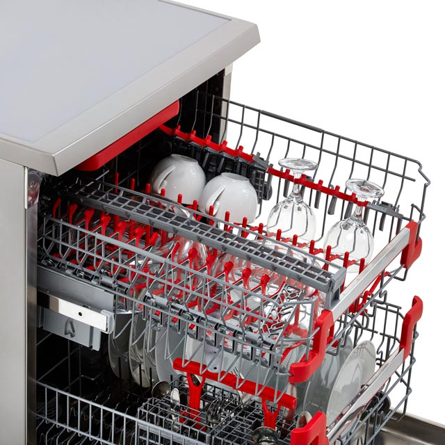 Hoover AXI HDPN4S603PX Standard Dishwasher - Stainless Steel - HDPN4S603PX_SS - 4