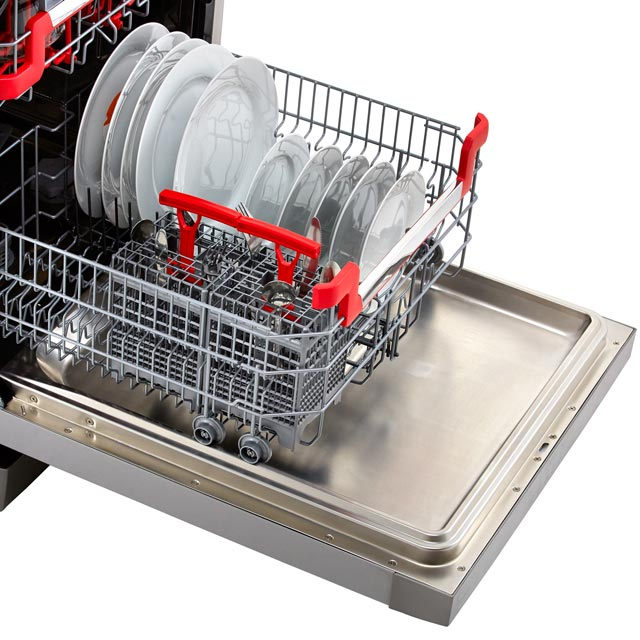 Hoover AXI HDPN4S603PX Standard Dishwasher - Stainless Steel - HDPN4S603PX_SS - 5