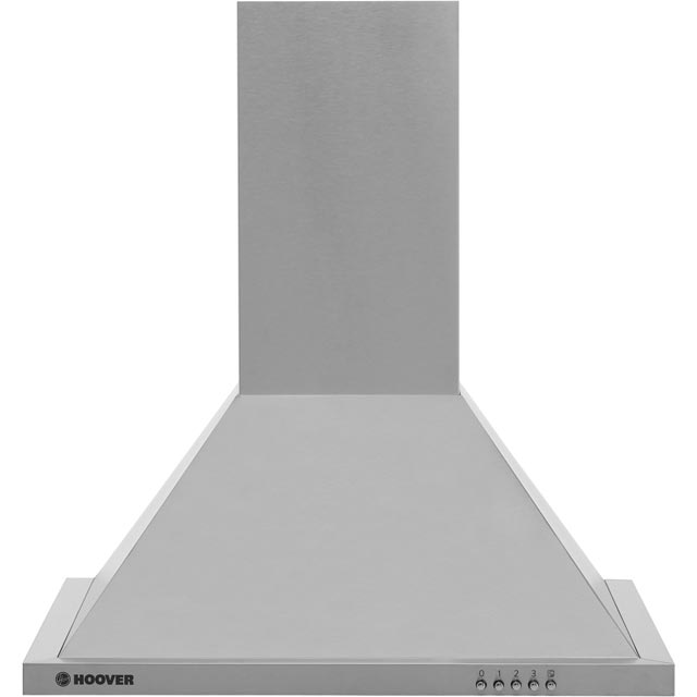 Hoover HECH616/3X 60 cm Chimney Cooker Hood - Stainless Steel - D Rated - HECH616/3X_SS - 1