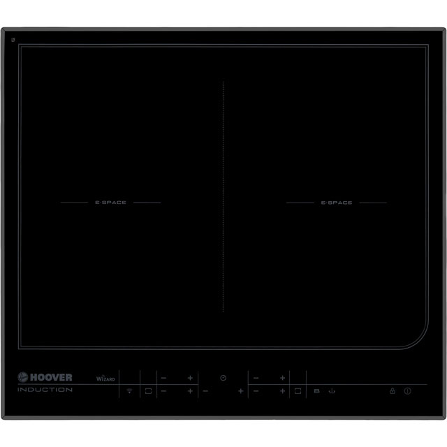 Hoover HESD4WIFI 59cm Induction Hob - Black - HESD4WIFI_BK - 1