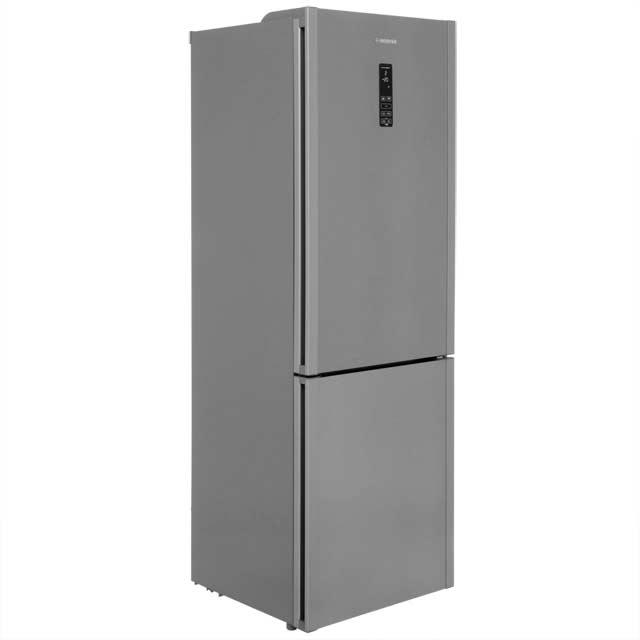 Hoover Free Standing Fridge Freezer Frost Free in Silver