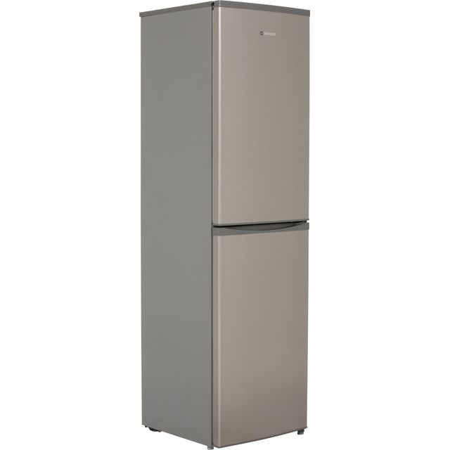 Hoover HFF195XK Fridge Freezer - Stainless Steel - HFF195XK_SS - 1