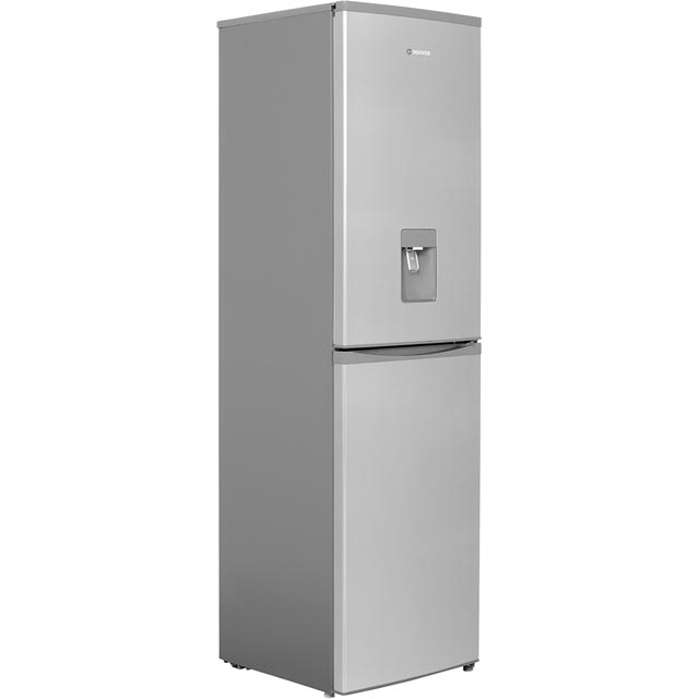 Hoover HFF195XWK Fridge Freezer - Stainless Steel - HFF195XWK_SS - 1