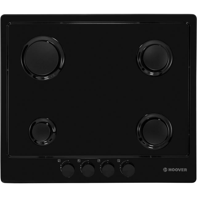 Hoover HGH64SCEB Built In Gas Hob - Black - HGH64SCEB_BK - 2