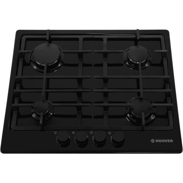 Hoover HGH64SCEB Built In Gas Hob - Black - HGH64SCEB_BK - 4